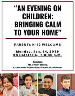 rsvp an evening on children bringing calm to your home news